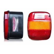 Lanterna Traseira Ford Cargo Caminhão Vw Troller C/vigia