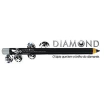 Diamond Lápis Para Olhos Preto Com Glitter 1,4 Yes Cosmetics