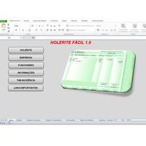 Planilha Para Impressão De Holerites / Contra Cheques Fácil.