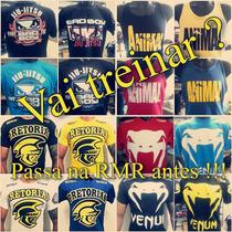 Camiseta Mma Ufc Luta Academia Venum Pretorian