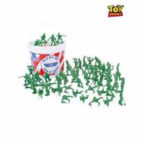 Balde De Soldados Toy Story (60 Soldados)