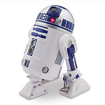 R2-d2 Droid Star Wars Disney Store - Sons/luzes/anda - 25cm