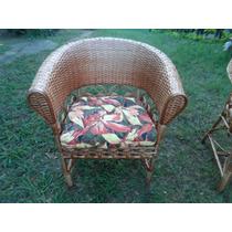 Almofadas Para Cadeira De Piscina, Almofada Poltrona De Vime