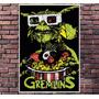 Poster Exclusivo Filme Gremlins Gizmo Spielberg - 30x42cm
