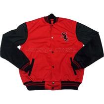 Jaqueta Blusa Varsity College Red Sox Pronta Entrega!