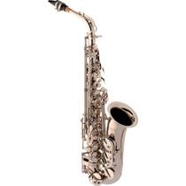 Eagle Sa500n Saxofone Alto Em Mib Niquelado - Frete Grátis