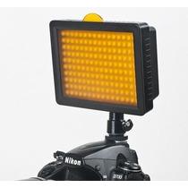 Iluminador W-160 Led Luminaria Luz Video Filmadora Dslr Cn