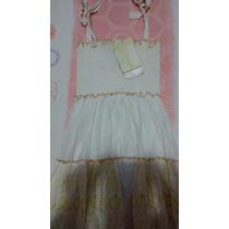 Vestido Branco, Super Leve, Ótimo Neste Verão!!!aproveite!!