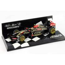 1.43 Minichamps Lotus Renault E22 #13 Formula 1 2014 Maldona