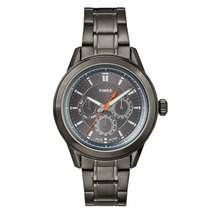 Relógio Timex Multifunção Metal T2p180wkl/tn - Chumbo