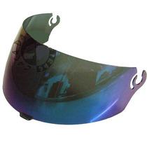 Viseira Capacete Ebf E8 Escamoteável Cristal Fumê Camaleão
