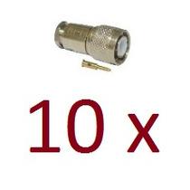 Kit Com 10 Cn-190 Conector Tnc Macho