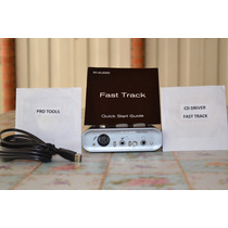 Placa Interface Fast Track M Audio Usb Driver E Software