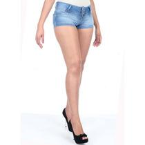 Short Jeans Feminino Original Sawary 20 % Desconto