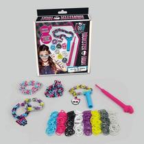 Monster High - Mini Loom Pop Crie Sua Pulseira - Fun