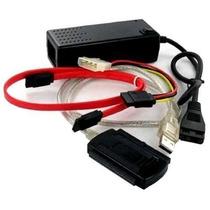 Kit C/ 10 Adaptador Conversor Usb 2.0 Hd Externo Ide Sata