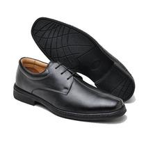 Sapato Social Masculino Em Couro, Forro Couro, Nºs 41,45,46