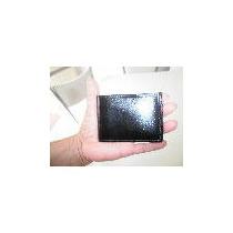 Mini Carteira Porta Cartão Dinheiro Slin De Couro