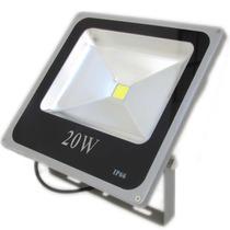 Refletor Led Holofote 20w Iluminacao Shopping Vitrine Casa