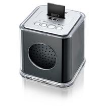 Caixa De Som Music Box-entrada Usb-sd E Radio Fm Multilaser