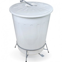 Cesto De Lixo Grande Automatico Reforçado Profissional 100 L