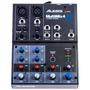 Mixer De 4 Canais Alesis Multimix 4 Usb Mm4usb + Interface