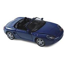 Miniatura Carro Porsche Boxter Azul 1:24 Em Metal Maisto