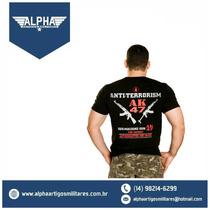 Camiseta Estampadas Militar Ak 47