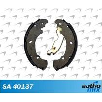 Sapata Lona Freio Fiat Uno 2010 A 2016 Autho Mix Sa40137