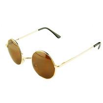 Óculos De Sol Redondo Retros Tortoise Lens 5461