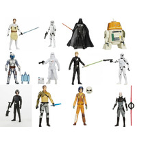 Kit Com 12 Bonecos Star Wars Rebels Hasbro