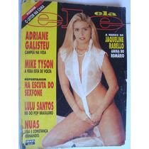 Ele Ela 311 Jun 1995 Adriane Galisteu Campeã Na Vida.