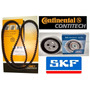 Kit Correia Dentada E Tensor Motor Fire (contitech + Skf)