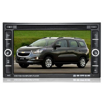 Central Multimídia Chevrolet Spin Kit Dvd Premium Gps Câm/ré
