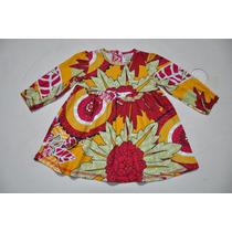 Vestido De Bebê C/ Calcinha - Puc Girls - Novo - Lindo !