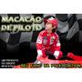 Macacão De Piloto De Corrida P/aniversário Carros F1 Festas