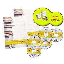 Combo 4 Cursos De Literatura - Dvds + Livros