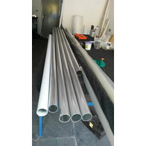 Tubo De Aluminio De 2x1,2mm Para Corrimao Preço Por Metro