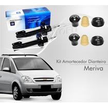 Kit Amortecedor Dianteiro Meriva Original Gm + Kit Original