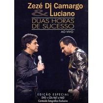 Zezé Di Camargo E Luciano - Duas Horas (box Lacradodvd+2cds)
