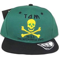 Boné Aba Reta Tom Hill Authentic Caps Bordado Snapback