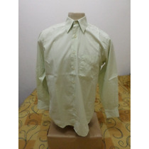 Camisa Social Brooksfield Tamanho 3 Otimo Estado Detalhe