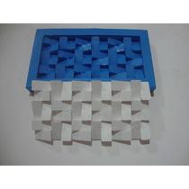 Forma De Silicone Mosaico Gesso Piramide Invertida F.gratis