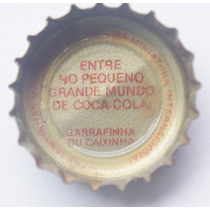 Tampinhas Antigas - Coca-cola Promo Miniaturas