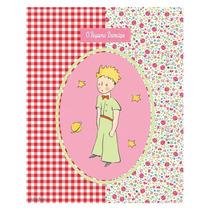 Placa Patchwork Floral Pequeno Príncipe Em Metal - 25x20 Cm