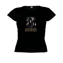 Camisetas Baby Look Banda Black Veil Brides -feminino