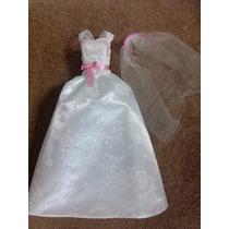 Vestido De Noiva Para Barbie E Similares