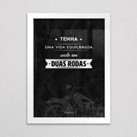 Quadro Decorativo ¿ Moto - Duas Rodas