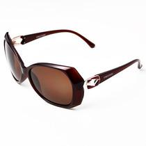 Óculos Triton P10938 - Feminino - Marrom - 12x Sem Juros