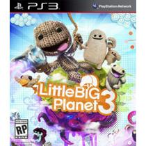 Little Big Planet 3 Ps3 Português Frete 15,00 Lacrado